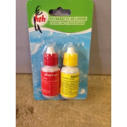 hth RECHARGE TROUSSE Cl/pH LIQUIDEhth