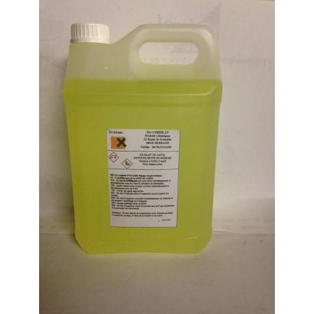 Jerrican 5 litres de javel 9.6 %